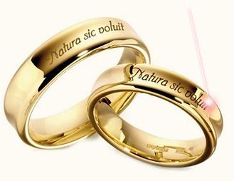 5f222b23f354 Лазерная гравировка наиболее прогрессивный и высокотехнологичный способ  нанесения изображений на обручальные кольца, на золотые обручальные кольца  с ...