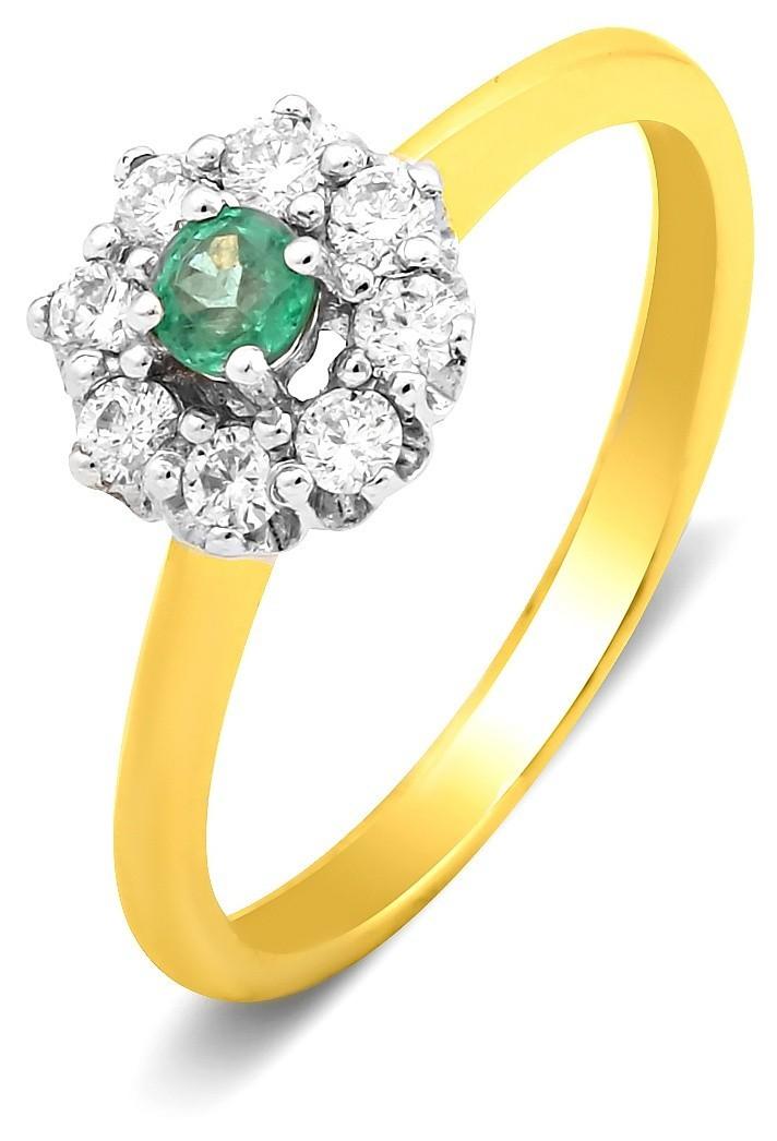 кольцо с жемчугом из золота 585