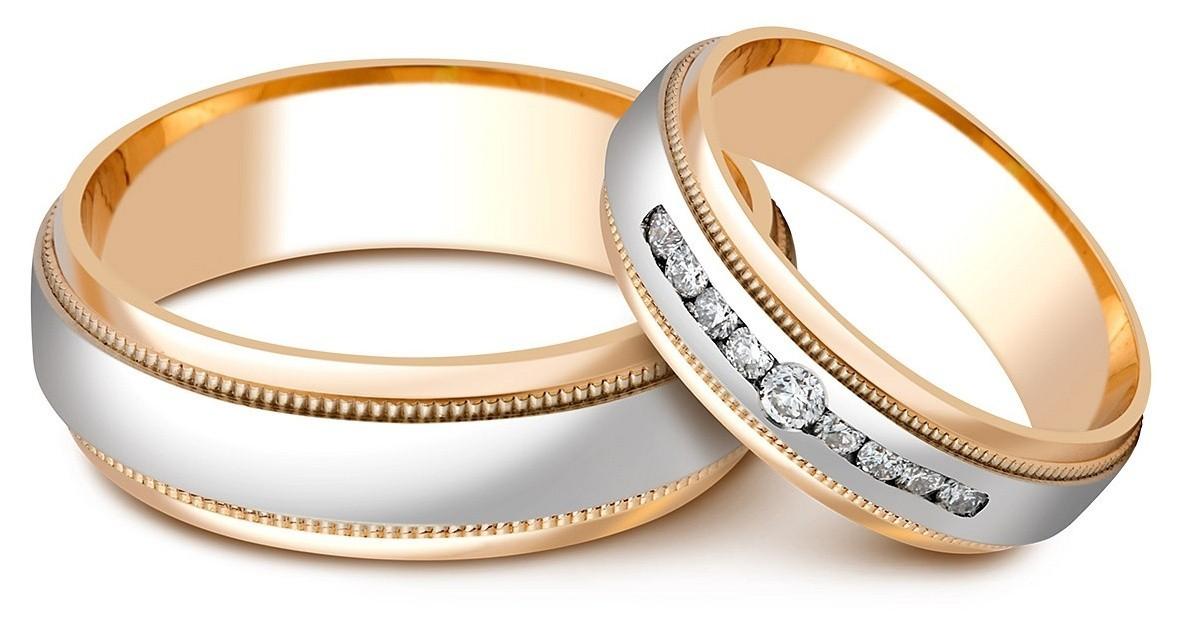 ... Обручальное кольцо из комбинированного золота с бриллиантами (023601)  ... 082c731be5d