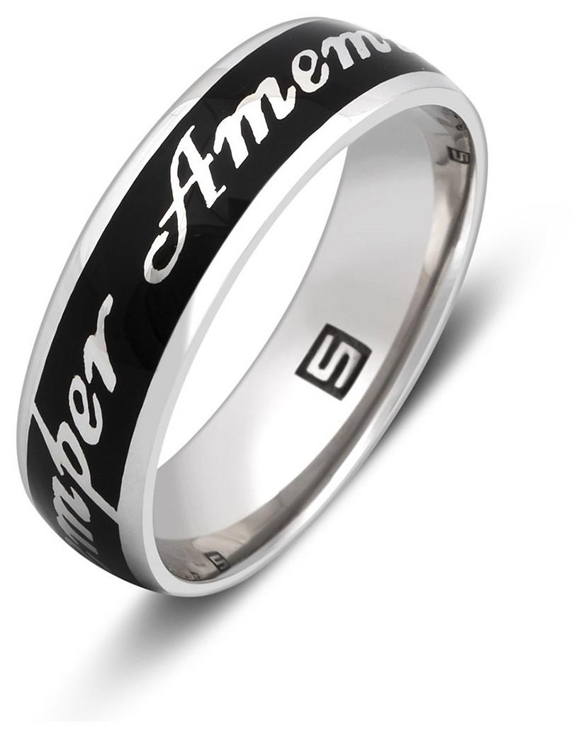 купить кольцо из белого золота с брилиантом