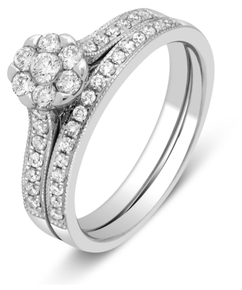 Комплект  помолвочное и обручальное кольца 032193   ЗлатоГрад 54dafa45047