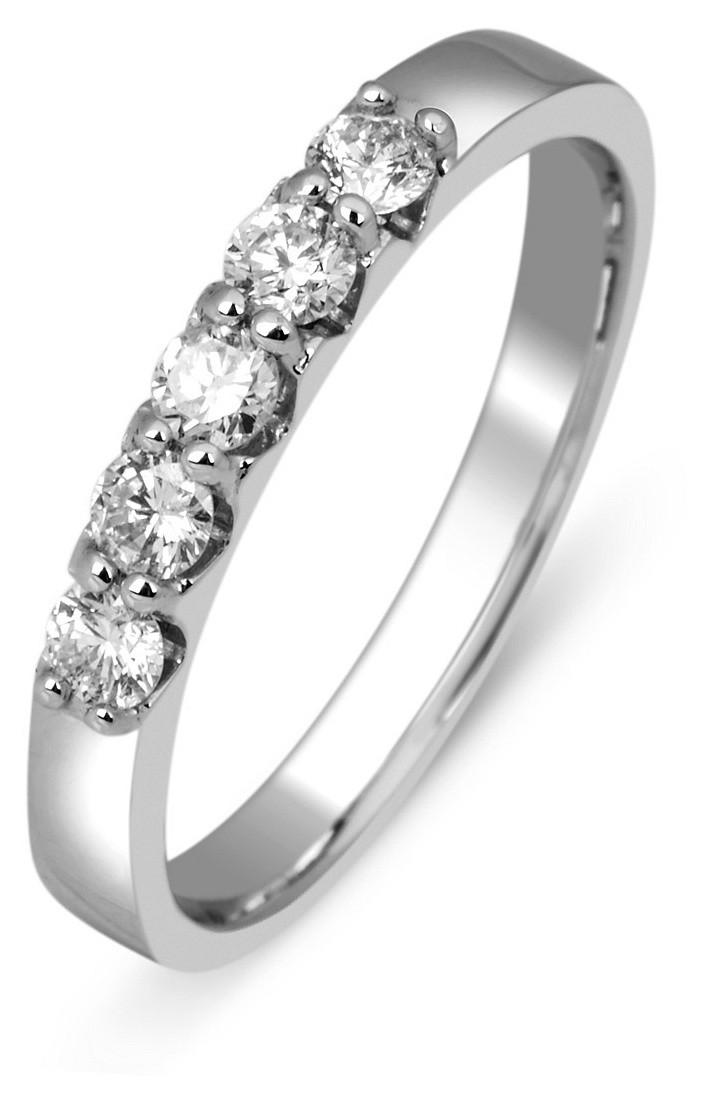 89592a9ec5ae Обручальное кольцо из белого золота с бриллиантами 012667   ЗлатоГрад