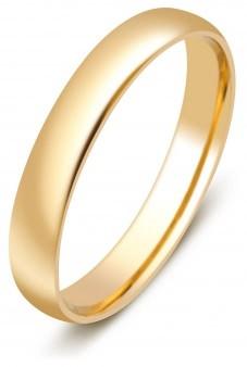 53e459c0aca3 Обручальные кольца из желтого золота 750 пробы - купить обручальное ...
