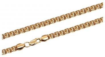 Мужская цепь из красного золота (013484)