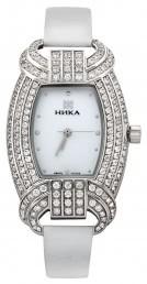 Часы женские из серебра с кристаллами Сваровски кварцевые НИКА (013921)