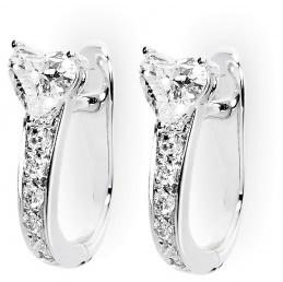 Серьги с бриллиантами (007179)