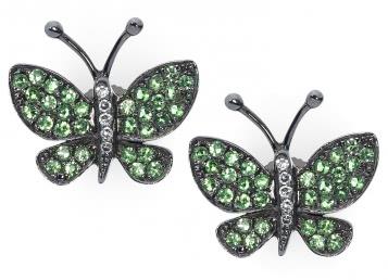 Серьги Бабочки (001222)