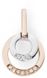 Кулон с бриллиантами (010688)