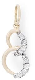 Кулон с бриллиантом (010689)