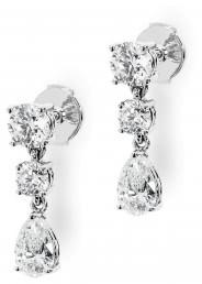 Серьги с бриллиантами 1 карат (007337)