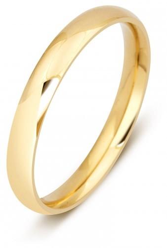43a6787e4d7d Обручальное кольцо из желтого золота 750 пробы 001096   ЗлатоГрад